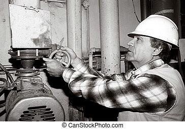 Ocupaciones, trabajos, -, ingeniero