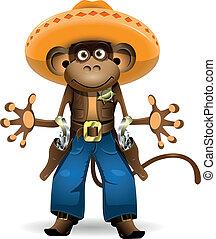 monkey sheriff