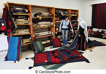 Bedouin Village - A local craft shop in Lakyia Bedouin...