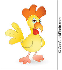 Rooster - Creative Abstract Conceptual Art of Rooster Vector...