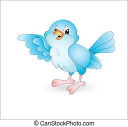 Bird - Creative Abstract Conceptual Design Art of Cute Bird...