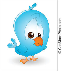 Cute Baby Bird - Creative Design Art of Cute Baby Bird...