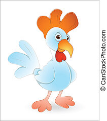 Rooster Bird - Creative Art Design of Rooster Bird Vector...