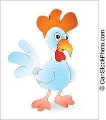 Rooster Bird - Creative Art Design of Rooster Bird Vector...