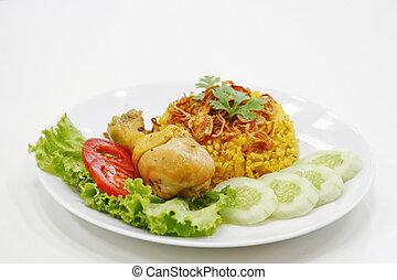 khao mok kai thai food