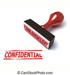 3d stamp confidential