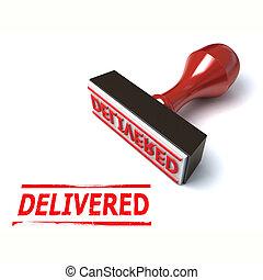 3d stamp delivered