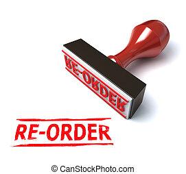 stamp re-order illustration
