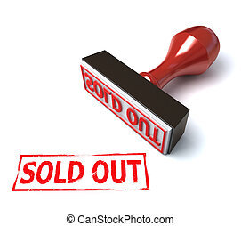 stamp sold out