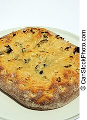 Parmesan cheese and onion Focaccia - Parmesan cheese and...