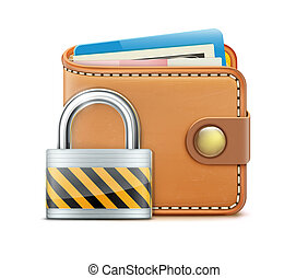 Security concept - illustration of security concept with...