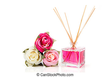 Roses and scented sticks