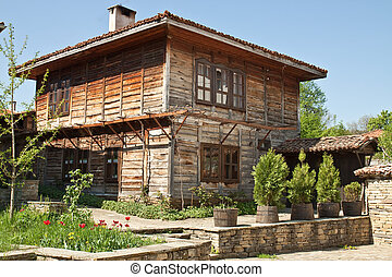 Bulgarian revival house