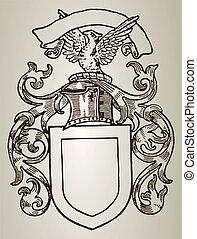 Heraldry shield