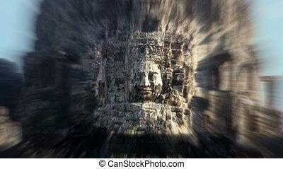 Bayon temple Angkor Cambodia