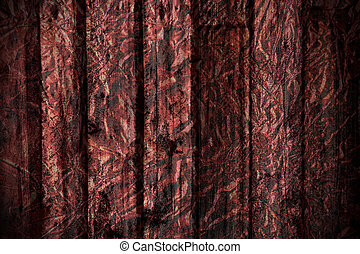 Grungy old wood foil textured background - Grungy dramatic...