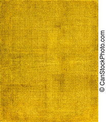 Yellow Cloth Background - A vintage cloth book cover with a...