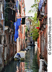 Typical scene of Venice, Italy