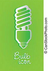 Saving bulb label
