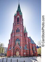 Johanneskirken in Bergen, norway. - A picture of the church...