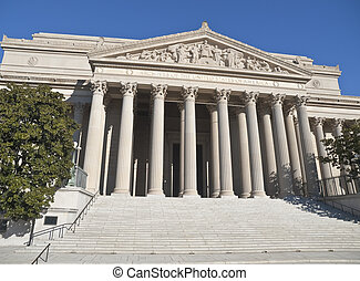 National Archives Building Washington DC - The National...
