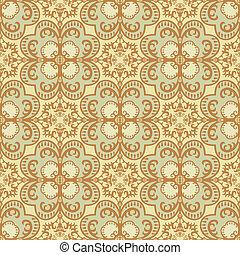 Seamless tile patttern - Seamless tile pattern, old fashion...
