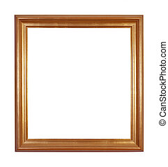picture frame - Picture frame on isolated white background