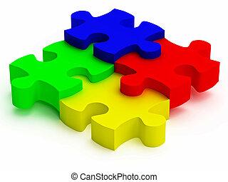 rgb color puzzle