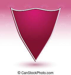 Shield. Royal style