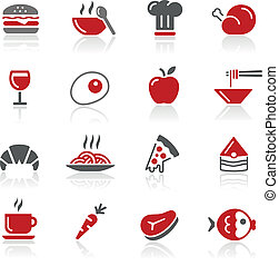 Food Icons - Vector icons for your web or printing projects....