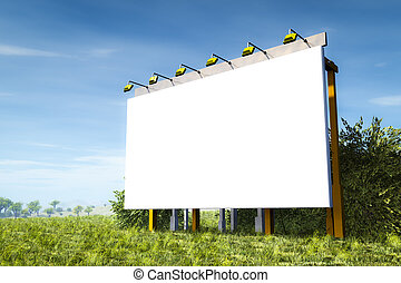 advertising wall - An image of an advertising wall in the...