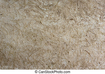 Brown mulberry paper with dark brow