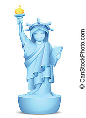 Model of Statue of Liberty
