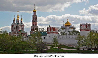 Novodevichy Convent in Moscow , Russia Was built in the 16th...