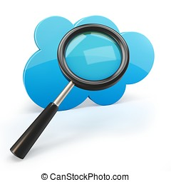 3d cloud computing search