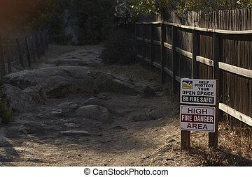 Fire Danger - The west is fast approaching fire season...