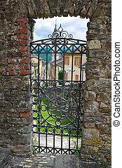Castle of Compiano. Emilia-Romagna. Italy.