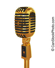 Microphone gold