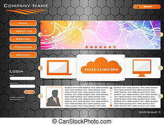 Web site design - on carbon desk