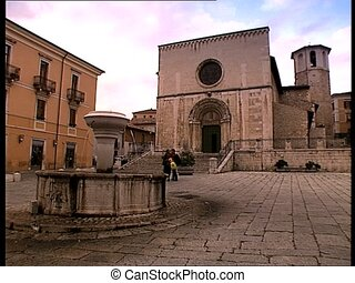 LAQUILA st peter coppito church - The italian city of...