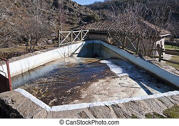 Water mill - Old restored water mill. Picture taken in La...