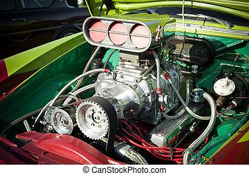 hot-rod, moteur