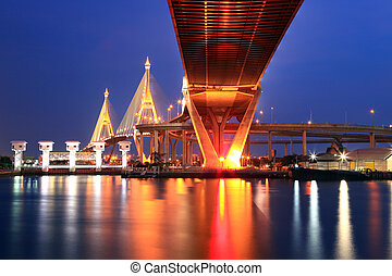 Bangkok Industrial Bridge - Mega Bhumibol Industrial Ring...