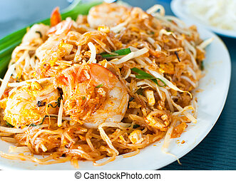 Thai food call Pad Thai - Image of Thai food call Pad Thai