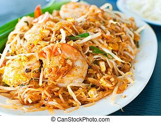 Thai food call Pad Thai. - Image of Thai food call Pad Thai.