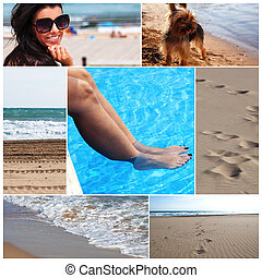 Collection of a summer photos