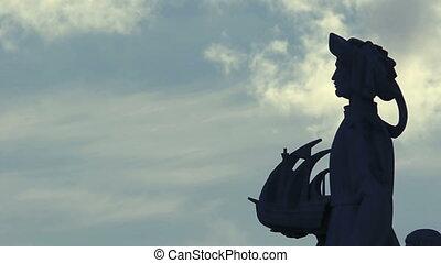 Henry the Navigator - Padrao dos Descobrimentos. Detail of...