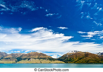 Lake Wanaka - Cloudscape over Lake Wanaka in the South...