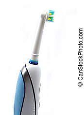 Tooth brush - Electric tooth brush on a white background