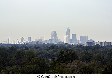 Downtown of Cleveland